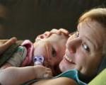 ängel Ingrid och mamma